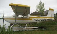 N4769B @ LHD - Cessna 180 at Lake Hood