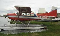 N70391 @ LHD - Cessna A185F at Lake Hood