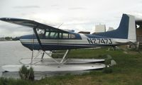 N2747J @ LHD - Cessna A185E at Lake Hood