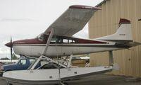 N375HP @ LHD - Cessna A185F at Lake Hood