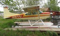 N1977U @ LHD - Cessna A185E at Lake Hood