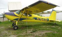 N7663A @ LHD - Cessna 180 at Lake Hood
