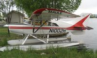 N1002H @ LHD - Maule M-7-235B at Lake Hood - by Terry Fletcher
