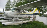 N3132E @ LHD - 1946 Champion 7BCM at Lake Hood