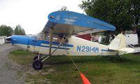 N2914M @ LHD - 1947 Piper Pa-12 at Lake Hood