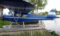 N927AP @ LHD - Taylorcraft F19 at Lake Hood