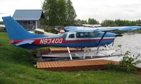 N8340Q @ LHD - Cessna U206F at Lake Hood