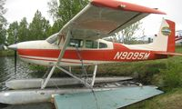 N9095M @ LHD - Cessna 180H at Lake Hood