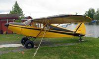 N78CW @ LHD - Piper Pa-12 at Lake Hood