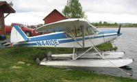 N4410E @ LHD - Piper Pa-18-150 at Lake Hood