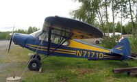 N7171D @ LHD - Piper Pa-18 at Lake Hood