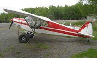 N3453M @ LHD - 1947 Piper Pa-12 at Lake Hood