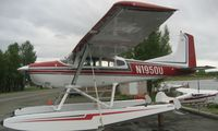 N1950U @ LHD - Cessna A185E at Lake Hood