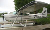 N7565H @ LHD - Cessna A185F at Lake Hood