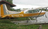 N70278 @ LHD - Cessna A185E at Lake Hood