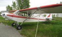 N66884 @ LHD - Piper Pa-18-150 at Lake Hood
