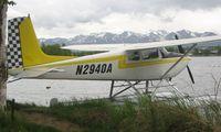 N2940A @ LHD - Cessna 180 at Lake Hood