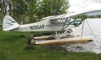 N1954P @ LHD - Piper Pa-18A-150 at Lake Hood