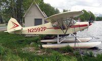 N2592P @ LHD - Piper Pa-18A-150 at Lake Hood