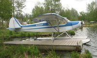 N2891P @ LHD - Piper Pa-18A at Lake Hood