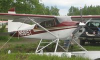 N5815T @ LHD - Cessna 185C on Lake Hood