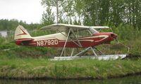 N8792D @ LHD - Piper Pa-18-150at Lake Hood
