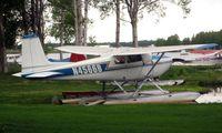 N4566B @ LHD - Cessna 180 at Lake Hood