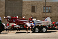 N134GS - At the Arlington, TX 4th of July Parade - Local EAA Chapter entry - by Zane Adams