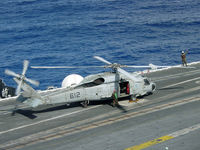 164619 - US Navy SH-60 SeaHawk prepares to launch for plane guard - by Iflysky5