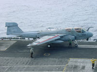 158039 - A EA-6B Prowler prepares for the cat shot - by Iflysky5