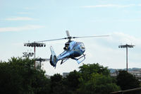 F-GYDE @ LFPI - Landing at Paris - Issy-les-Moulineaux Heliport - by Alipho