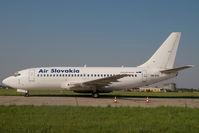 OM-RAN @ LZIB - Air Slovakia Boeing 737-200