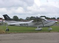 N61910 @ EGTC - Cessna Skylane at Cranfield - by Simon Palmer