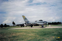 51-11293 @ KDYS - Recon Thunderflash @ Dyess AFB Display - by TorchBCT