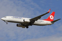 TC-JGY @ VIE - Turkish Airlines Boeing 737-8F2