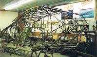 N9184H @ KCBG - Fuselage stripped - by toddbrenna