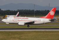 4L-TGA @ VIE - Georgian Airlines Boeing 737-529