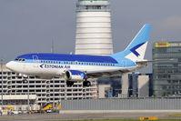 ES-ABL @ VIE - Estonian Air Boeing 737-5L9