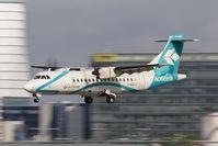 I-ADLV @ VIE - Air Dolomiti Aérospatiale ATR-42-500
