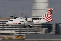 SP-EDF @ VIE - EuroLOT Aerospatiale ATR-42-500