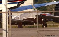 N1004Q @ ILM - Tied, covered and quiet - by Paul Perry
