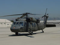 UNKNOWN @ KVNY - US ARMY UH-60 @ KVNY a pair of these flew a brigadier in - by Iflysky5