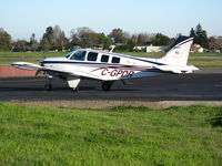 C-GPDR @ SAC - 1999 Beech A36 visiting @ Sacramento Executive Airport, CA - by Steve Nation
