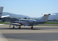 N910BD @ LVK - West Sacramento, CA-based DBS Air Raytheon B300 King Air @Livermore, CA - by Steve Nation