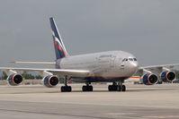 RA-96015 @ VIE - Aerflot Iljuschin 96