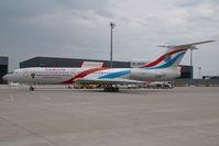 RA-85057 @ VIE - Samara Government Tupolev 154