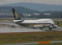 9V-SPI @ ZRH - Singapore Airlines - by Christian Waser