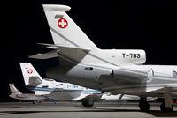 T-783 @ VIE - Swiss Air Force Falcon 50 - by Yakfreak - VAP