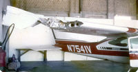 N7541V @ FTW - After surviving a mid air collision with a Beech Bonanza!