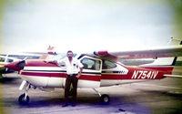 N7541V @ FTW - John Van Dyke by his favorite airplane! Thanks John...I sure miss my old hanger flying buddy!